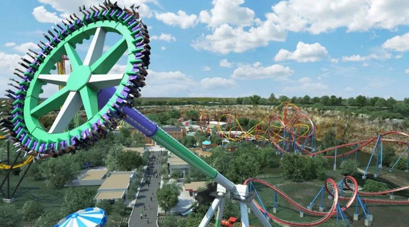 Six Flags Fiesta Texas Adds Tallest Ride Inspired By DC Super Villain